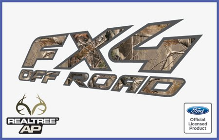 Ford Ranger FX4 Off Road RealTree Decals Stickers AP (1997-2012) - AP