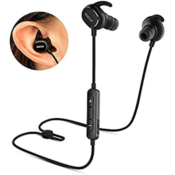 works with Samsung,Google Pixel,LG Apple CVC 6.0 Noise Cancellation LG G3 Stylus Bluetooth Headset In-Ear Running Earbuds IPX4 Waterproof with Mic Stereo Earphones