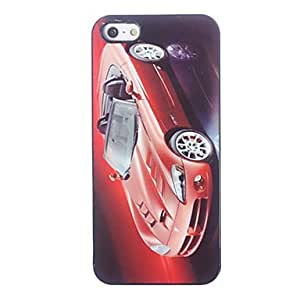 LIMME Cool Car Pattern Aluminium Hard Case for iPhone 5/5S