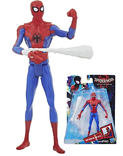 "Price comparison product image Peter Parker Spiderman Into The Spiderverse 6"" Action Figure"