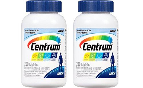 센트륨 남성용 멀티 비타민 Centrum Mens Multivitamin/Multimineral Supplement