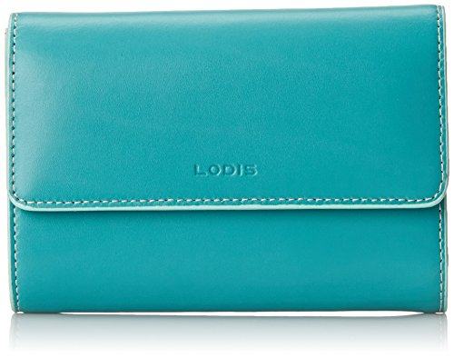 Lodis Audrey Continental Wallet, Jade/Sky, One Size