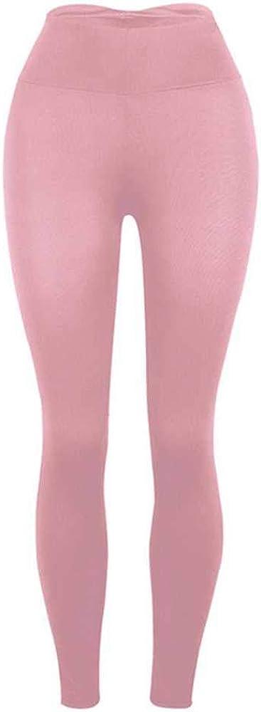 Las Mujeres De Color Puro Pantalones De Yoga Push Up De Cintura Alta Delgada Leggings Negro Gris Alta Elástica Transpirable Entrenamiento Deportes Ropa