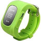 Kiddy Watch 60002 Smartwatch mit GPS Lokalisierung OLED hellgrün