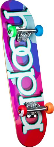 UPC 845584064372, hoopla Camo Complete Skateboard, 7.5-Inch, Multi-Color