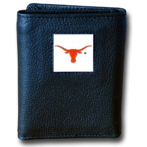 NCAA Texas Longhorns Leather Tri-Fold Wallet