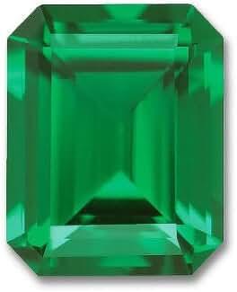 10x8mm Octagon Emerald Cut Gem Quality Chatham Lab-Grown Emerald 2.70-3.30 Ct.
