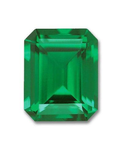 10x8mm Octagon Emerald Cut Gem Quality Chatham Lab-Grown Emerald 2.70-3.30 (Cut Chatham Emerald)