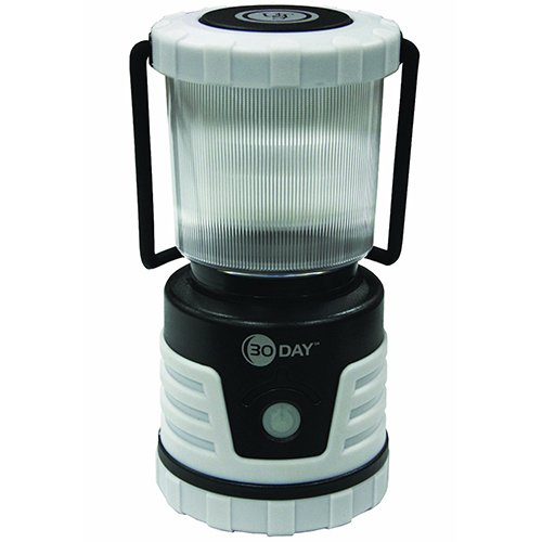 UST 30-DAY Duro LED Portable 700 Lumen Lantern with Lifetime LED Bulbs and Hook for Camping, Hiking, Emergency and Outdoor Survival ()
