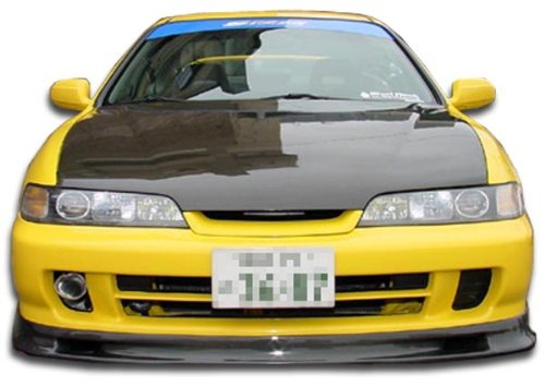 (Carbon Creations Replacement for 1994-2001 Acura JDM Integra Spoon Style Front Lip Under Spoiler Air Dam - 1 Piece)