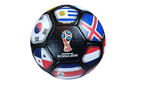 FIFA Official Russia 2018 World Cup Official Licensed Size 5 Ball (Soccer Ball Cup)