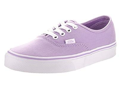 Vans Unisex Authentic Lavender/True White Skate Shoe 6.5 Men US / 8 Women US