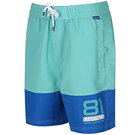23193bf7a9 Amazon.com : Regatta 2018 Mens Brachtmar II Quick Dry Summer Swimming Shorts  : Clothing