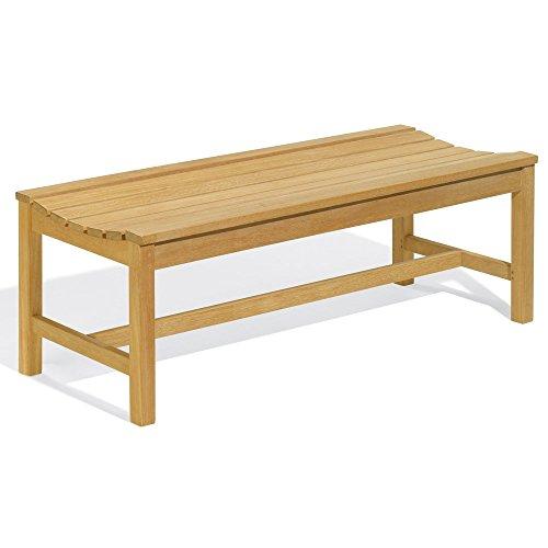 Oxford Garden 4-Foot Shorea Backless Bench