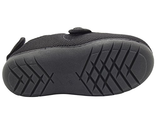 True Face Unisex Touch Fastener Orthopedic Diabetic Slippers Ct-16004-black 72isLp9CT