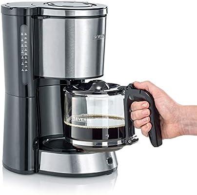 SEVERIN KA 4822 Cafetera Type para filtros de Café Molido, 10 ...