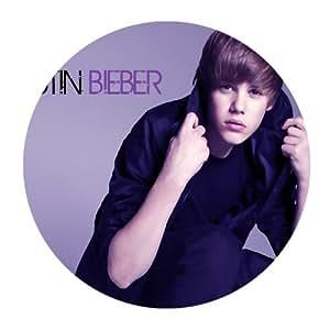 Custom Justin Bieber Mouse Pad Gaming Round Mousepad CM-1499