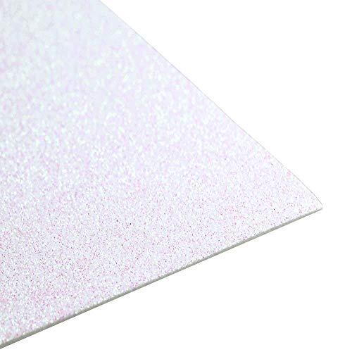 OOKI -(10 Pack)-2mm Thick Glitter Eva Foam Sheets 12