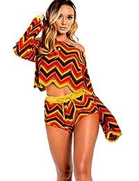 IKRUSH Kimmi Crochet Knitted Aztec Co-ord