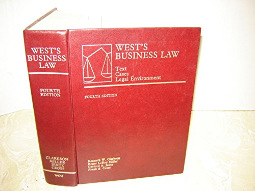 West's Business Law : Text Cases and Legal Enviornment