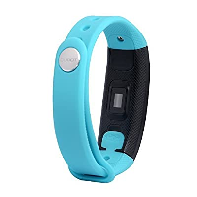 CUBOT V2 Activity Tracker Wristband with 24hours Heart Rate Monitoring, Compatible with Android 4.3 /iOS 8.0 and Above Smartphones, Also Bluetooth4.0 Smartphone Official