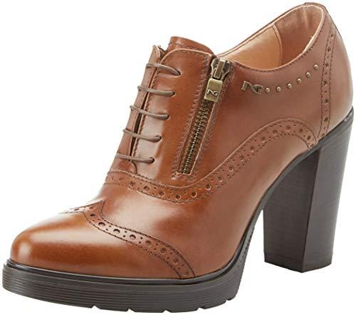 Manolete Botines Beige Para 400 Cuoio Mujer Giardini Tr leather Nero gw5qxI15
