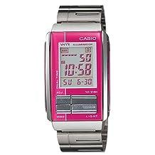 Casio Women's Futurist Alarm Chronograph LCD Watch #LA201WD-4A