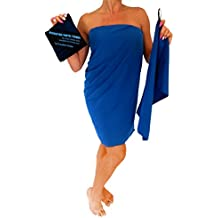 "Microfiber Travel Towel XL 30x60"" with FREE Hand Towel - Fast Drying, Compact, Soft, Light, Antibacterial. For Backpacking, Camping, Beach, Gym, Swimming. Includes Carry Bag."
