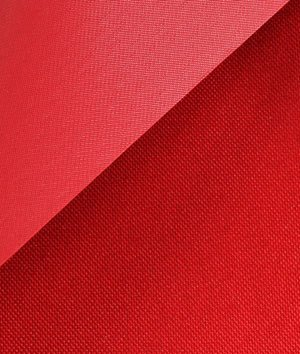 (Red 600x300 Denier PVC-Coated Polyester Fabric - by the Yard)