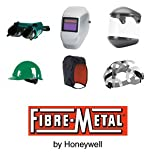 Fibre-Metal Dual Crown F400DC Clear General Purpose Face Shield & Headgear Set - Ratchet Adjustment - Uncoated - FM500DCCL [PRICE is per EACH]