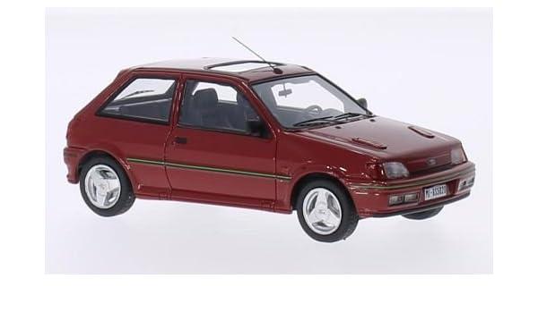 Ford Fiesta RS Turbo MKIII, rojo, 1989, Modelo de Auto, modello completo, Kess 1:43: Kess: Amazon.es: Juguetes y juegos