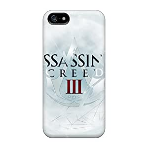 Cute CalvinDoucet Assassins Creed 3 Poster Cases Covers For Iphone 5/5s