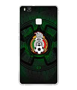 ColorKing Football Mexico 08 Black shell case cover for Honor 9 Lite