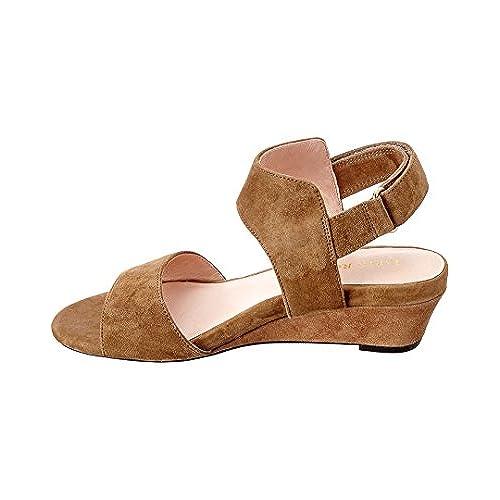 7ca5b6dd37a cheap Taryn Rose Shidora Suede Wedge Sandal - holmedalblikk.no
