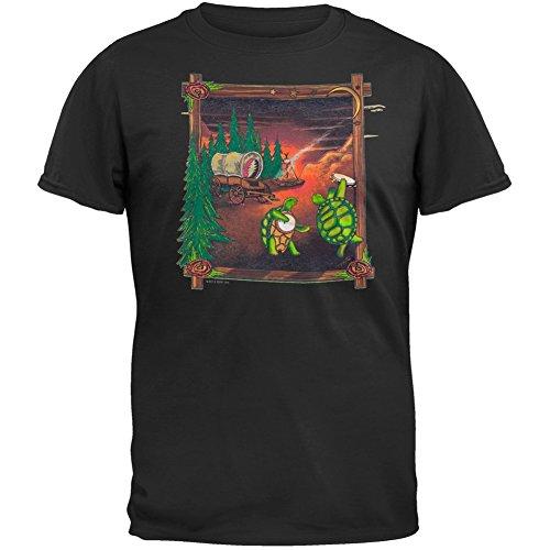 Old GloryHerren T-Shirt Schwarz Schwarz