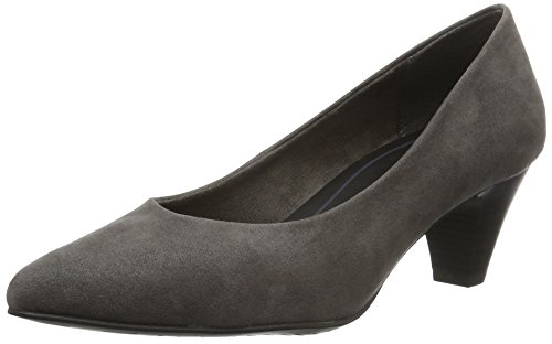 Mujer Para Lona Vestir De 200 Marco grey Tozzi Zapatos Gris 22413 aYwqn047