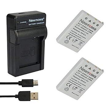Newmowa EN-EL5 Batería (2-Pack) y Kit Cargador Micro USB portátil ...