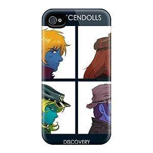 Hot Design Premium WyT983equS Tpu Case Cover Iphone 6 Protection Case(daft Punk Crescendolls)