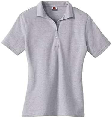 Hanes Ladies' Cotton Pique Sport Shirt