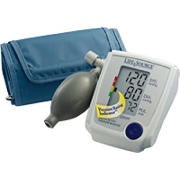 A&D Medical Upper Arm Blood Pressure Monitor with Large Cuff (1 Each)
