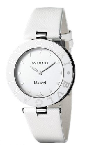 New Ladies Bvlgari B.Zero Quartz White Watch BZ35WLSL