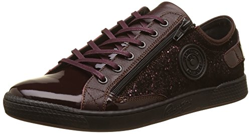 Femme Jester Pataugas Basses Bordo Baskets Rouge nZxxpAz