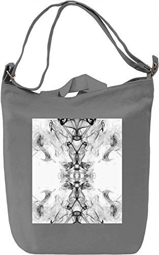 Abstract Art Borsa Giornaliera Canvas Canvas Day Bag| 100% Premium Cotton Canvas| DTG Printing|