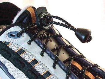 Patterson Medical Lock Laces White