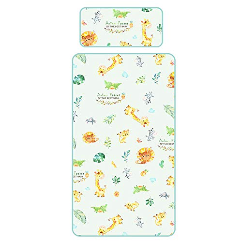 - BELUPAI Baby Diaper Pad, Newborn Infant Waterproof Urine Bed Pad,Summer Ice Silk Large Baby Mattress,Washable Breathable Diaper Bed Pad with Pillow for Infants Kids