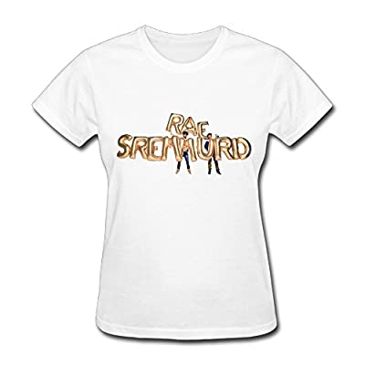 100% Cotton Rae Sremmurd Sremmlife 2 Tour Logo T Shirt For Womens White