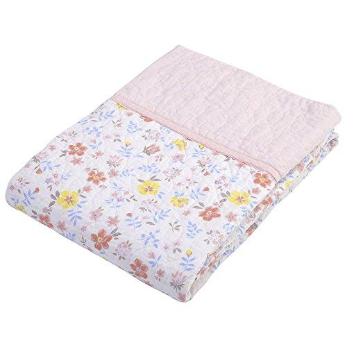 서쪽 강 (Nishikawa) 모 포 ?가 제 모 포 핑크 싱글 140 × 190cm 방수 퀼트 피부 이부자리 꽃무늬 4G1824-MM / Nishikawa- Nishikawa- Towel ket gauzeket Pink Single 140×190cm Washed Quilt Skin Futon Floral 4G1824-MM