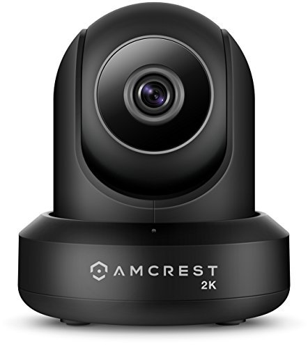 Amcrest UltraHD 2K (3MP/2304TVL) WiFi Video Security IP Camera with Pan/Tilt Dual Band 5ghz/2.4ghz Two-Way Audio 3-Megapixel @ 20FPS Wide 90° Viewing Angle and Night Vision IP3M-941B (Black) [並行輸入品] B079FWF56S