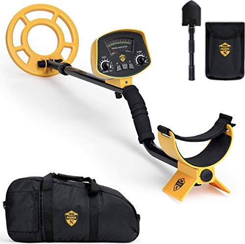 ToolGuards Metal Detector with Carry Bag & Shovel [Newest 2019 Model] Metal Detectors for Adults