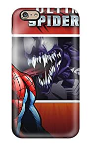 Tpu Case Skin Protector For Iphone 6 Spider-man With Nice Appearance